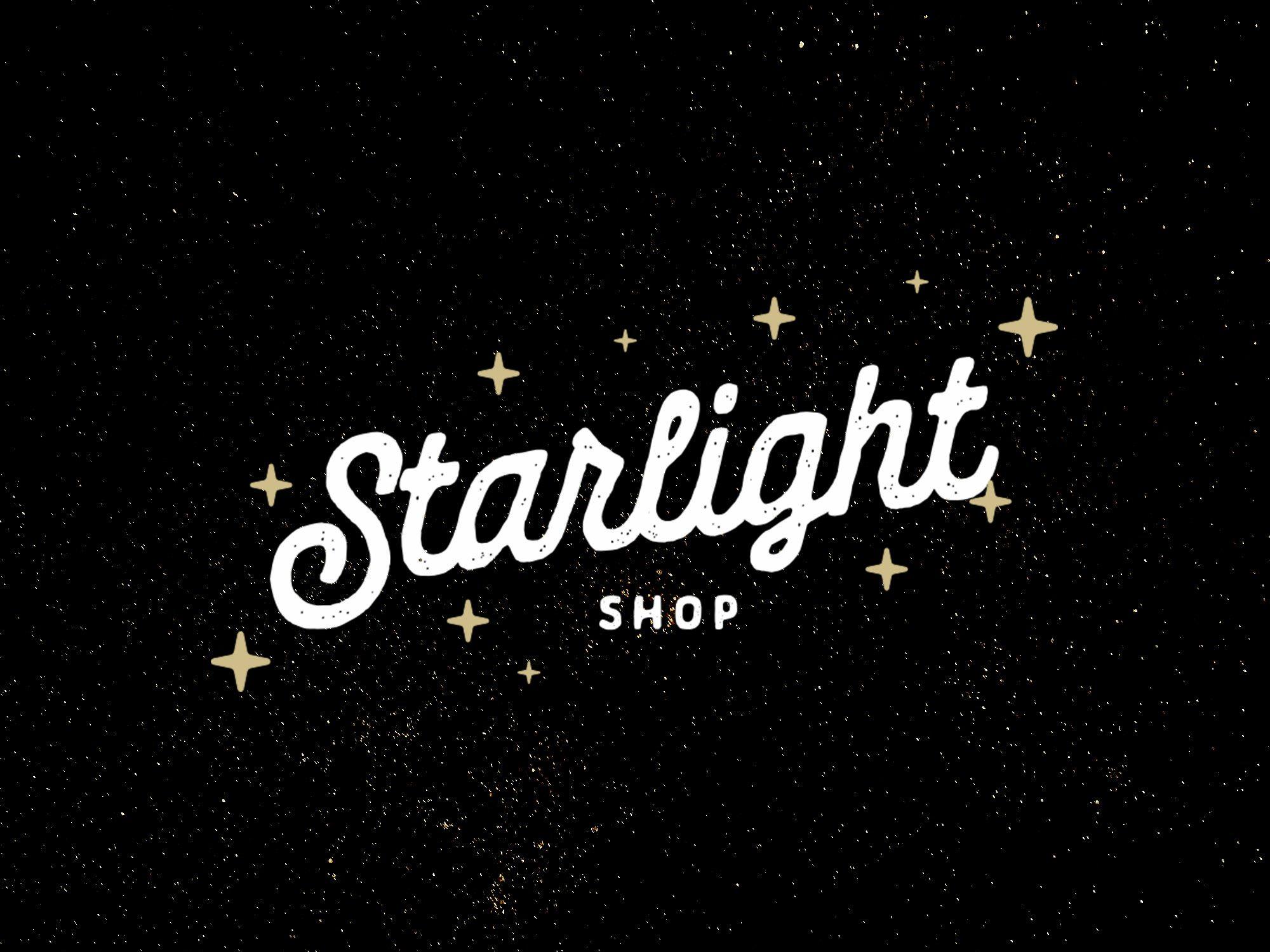 Starlight Shop Modern Branding Starlight Trendy Logos