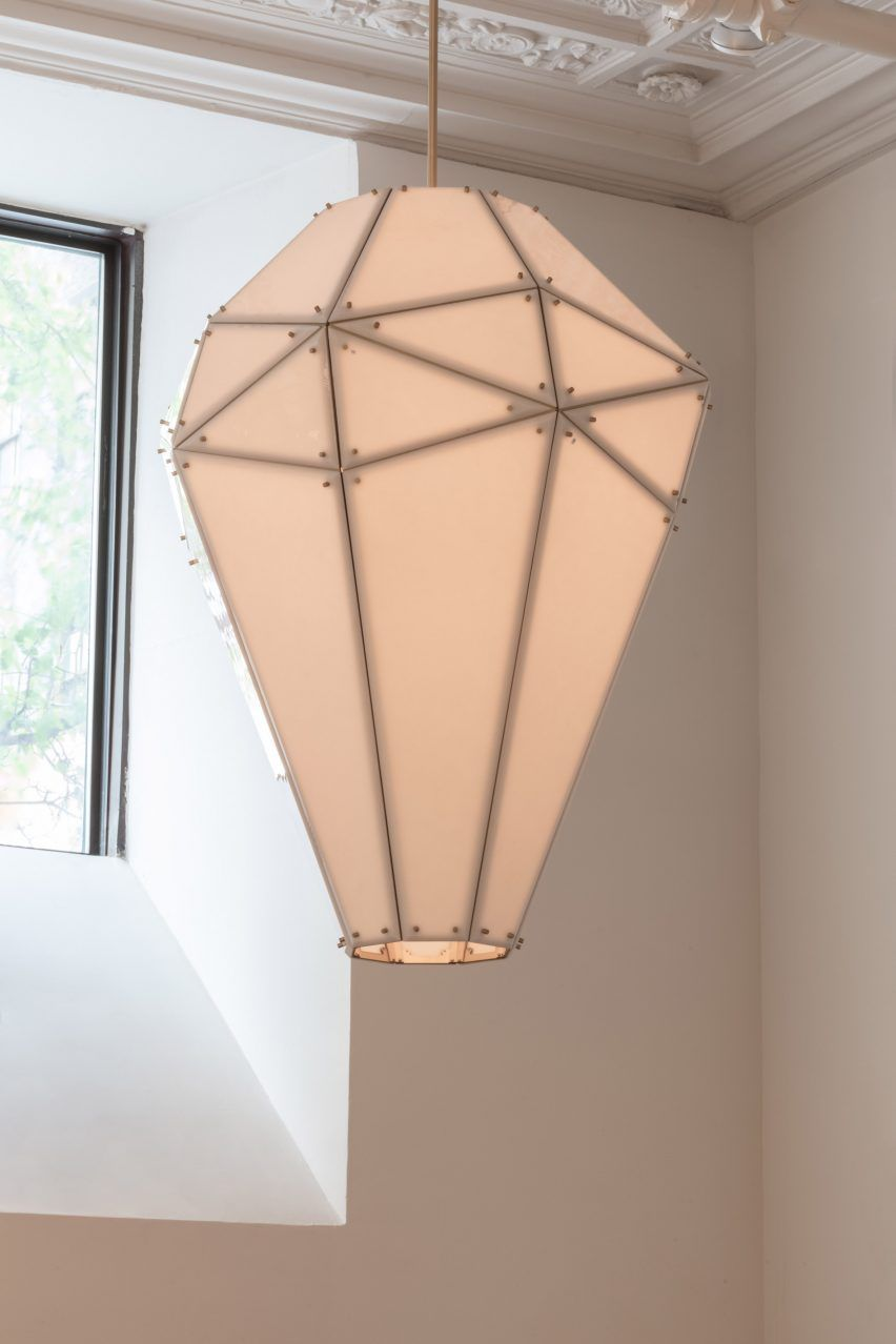 Australian Designer Mary Wallis Is Displaying The Faceted
