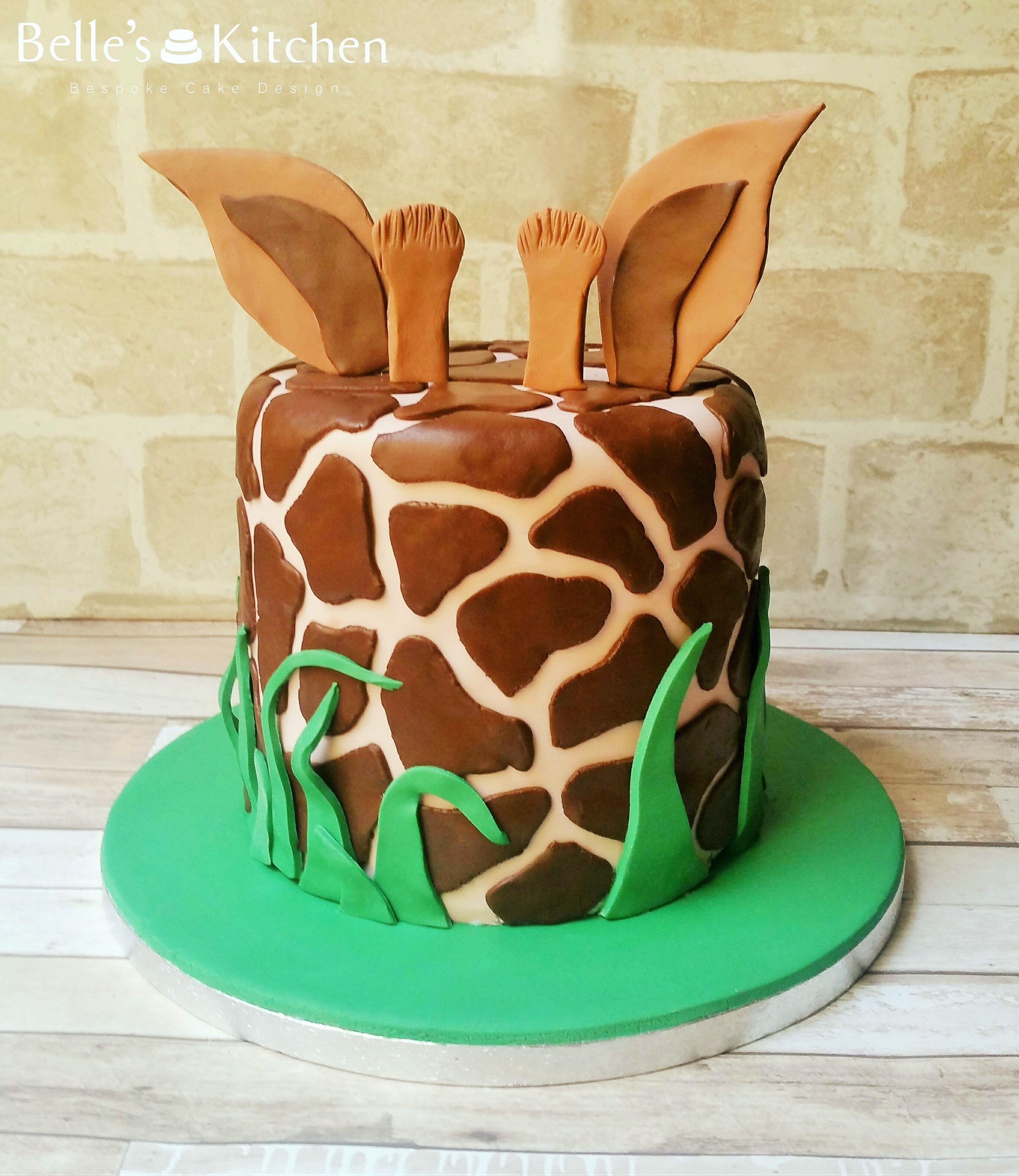 Giraffe Cake Cake decor Pinterest Giraffe cakes Giraffe and Cake