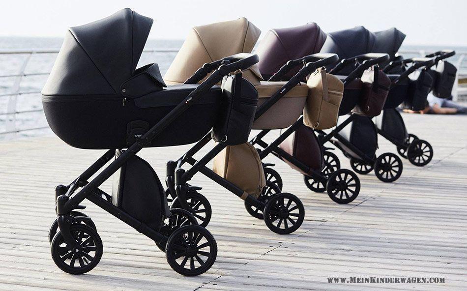 Anex E Type Noir Black Kombi Kinderwagen 2 In 1 Mit Babywanne Und Sportwagen Oder 3 In 1 Mit Autoschale Kinderwagen Minimalistisches Baby Babyschaukel