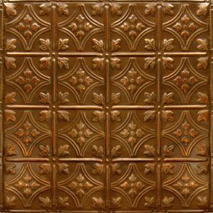 American tin ceiling tiles pattern 3 in copper brushed bronze wine cellar tin ceiling - American tin tiles wallpaper ...