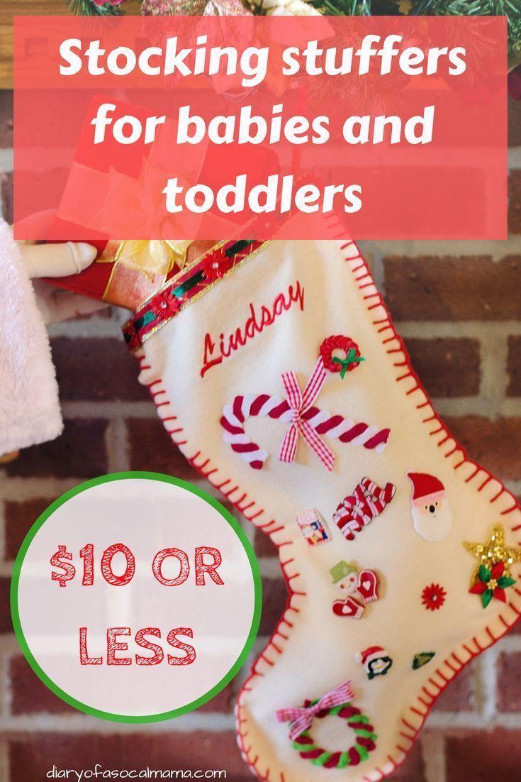 baby christmas stocking stuffers