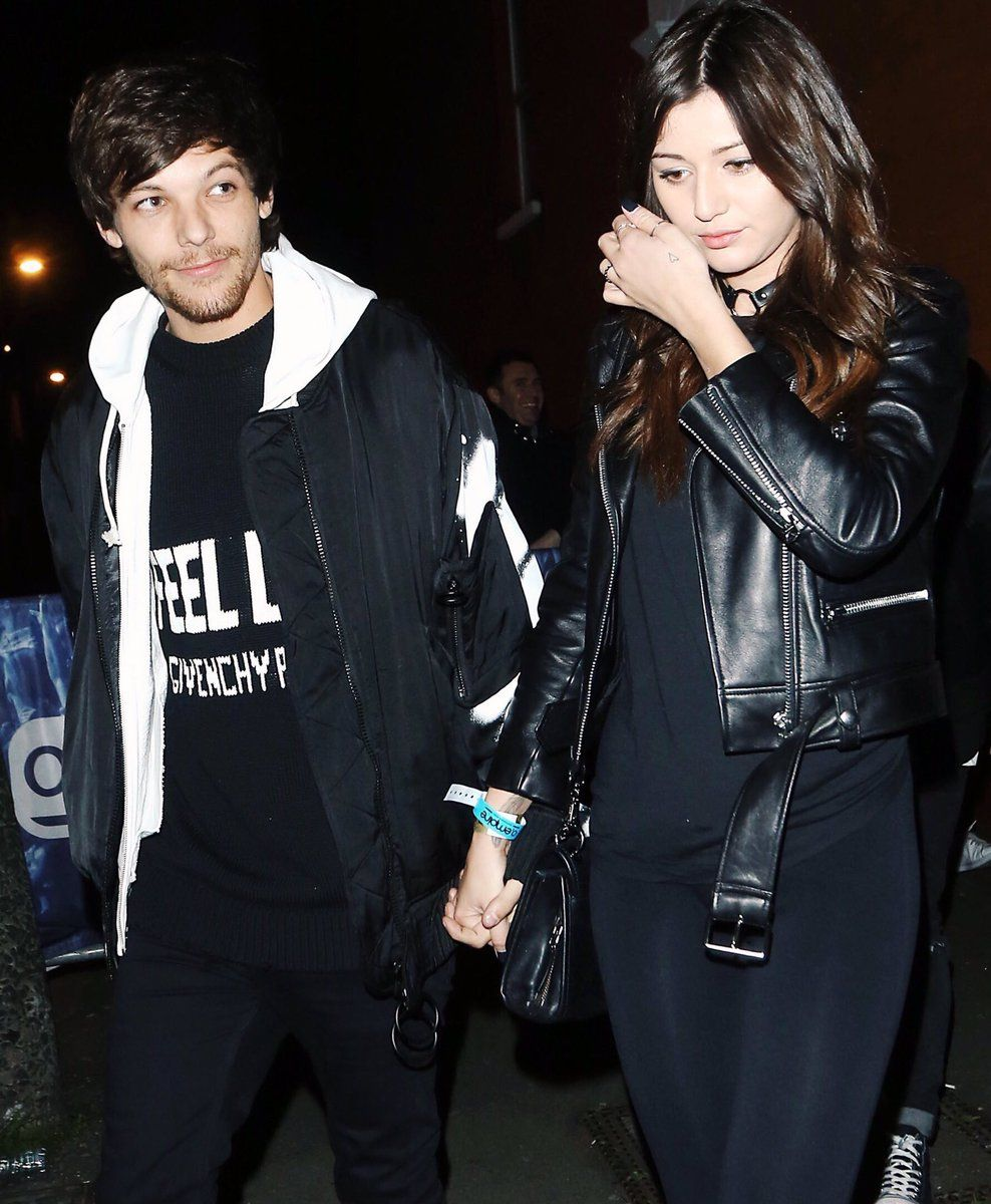 louis and eleanor leaving james arthurs concert in london