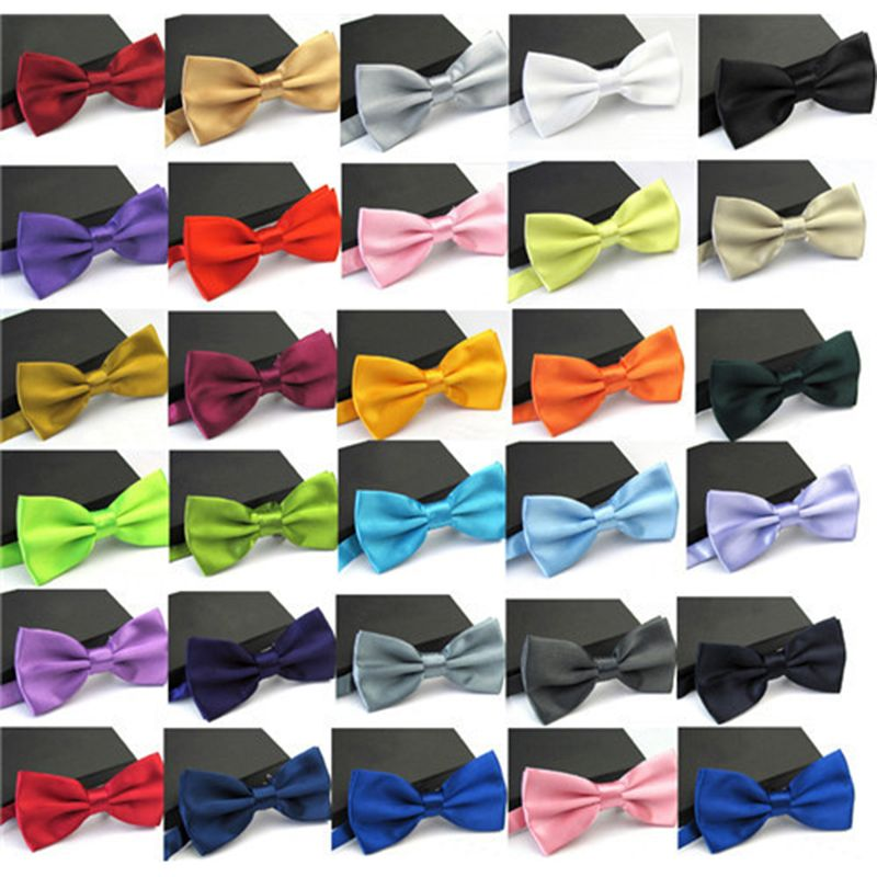 Formal Commercial Wedding Butterfly Cravat Bowtie Male Marriage Bow Ties Tie