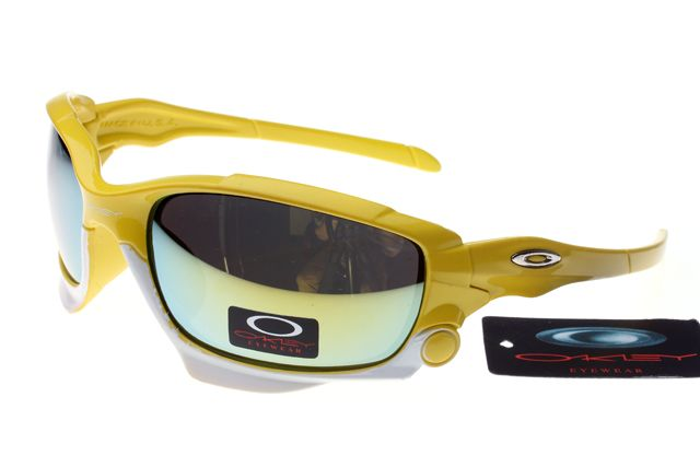 Oakley Jawbone Sunglasses Yellow Frame Colorful Lens 0653 [ok-1653] -  $12.50 :