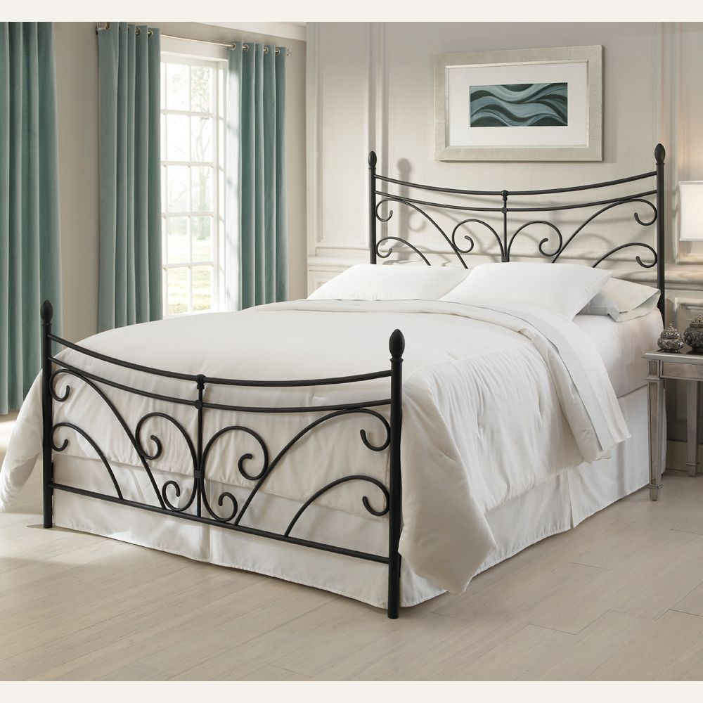 from Humble Abode - $159. Bergen Iron Bed by Fashion Bed Group ...