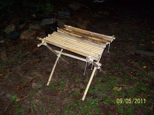 Astonishing Bamboo Camp Furniture Camping Table Table Accessories Frankydiablos Diy Chair Ideas Frankydiabloscom
