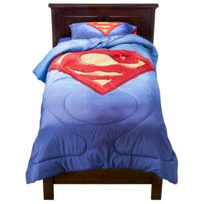 Superman Comforter Twin Target For Richie Boys Bedroom