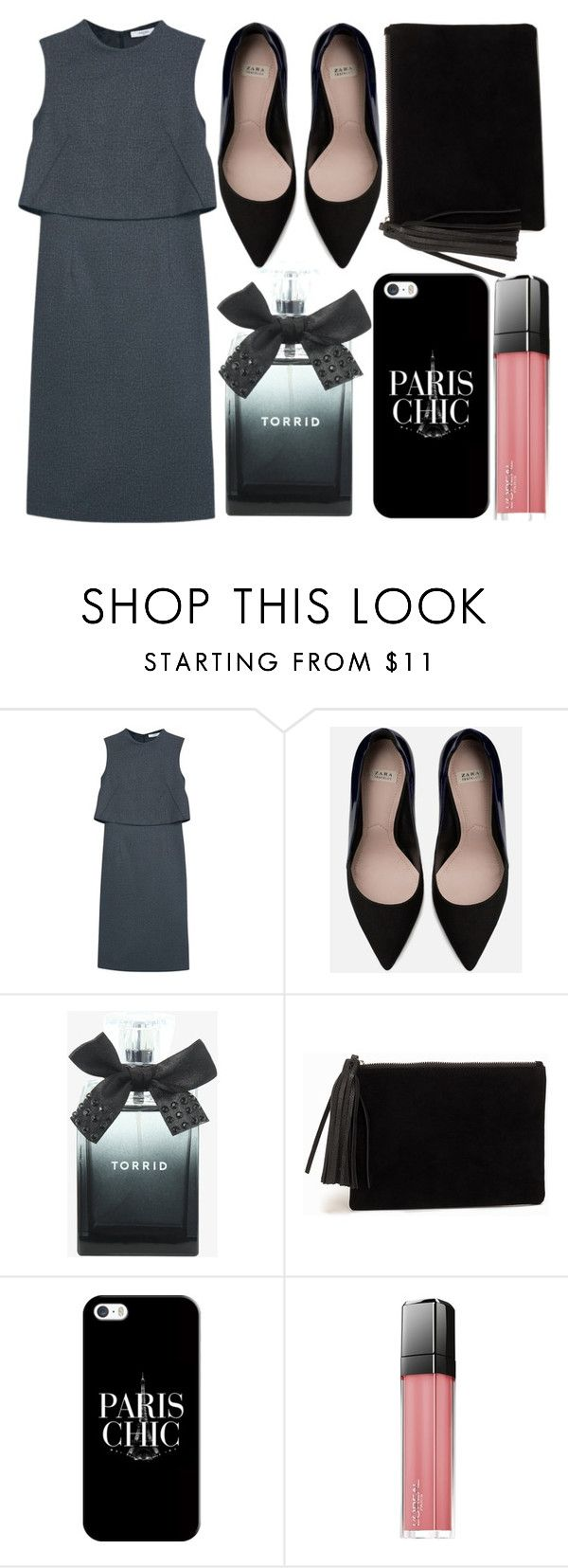 """""""street style"""" by sisaez ❤ liked on Polyvore featuring MANGO, Zara, Torrid, NLY Accessories, Casetify and L'Oréal Paris"""