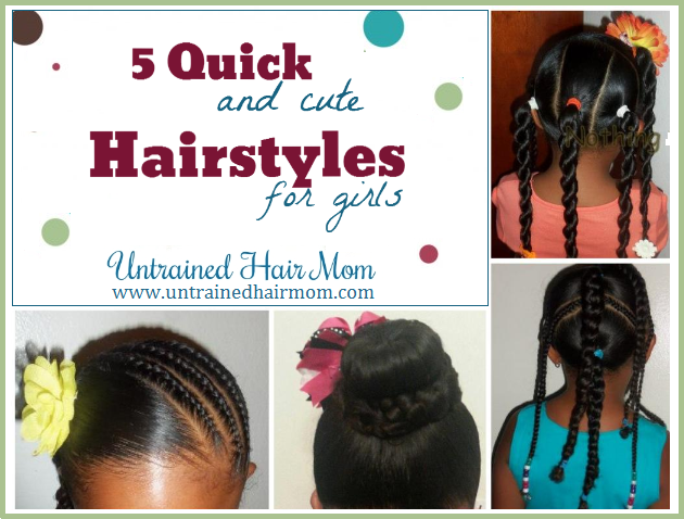 Quick Cute Hairstyles 5 Quick Cute Hairstyle Howto's  Natural  Pinterest  Hair Style
