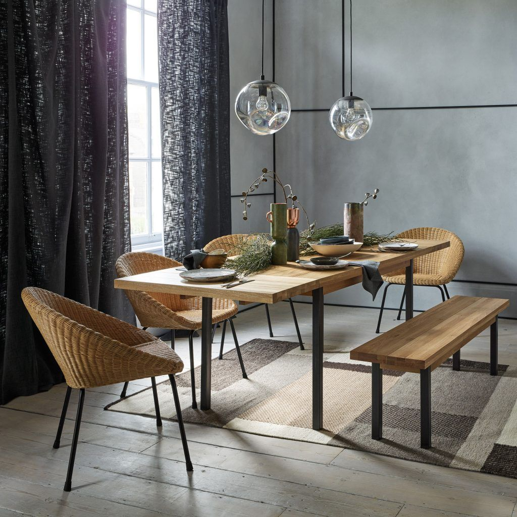 Dining Chair Ideas Which Style Best Suits Your Room Habitat Blog In 2020 Dining Table With Bench Interior Design Dining Room Oak Extending Dining Table