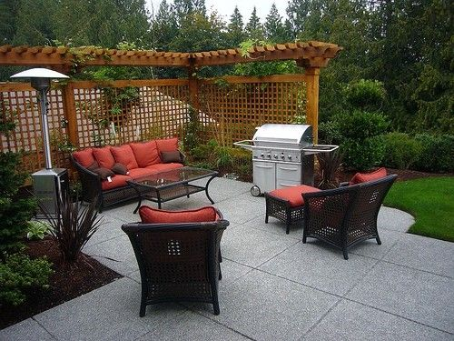 Garden design with backyard patio ideas for small spaces for Small backyard privacy ideas