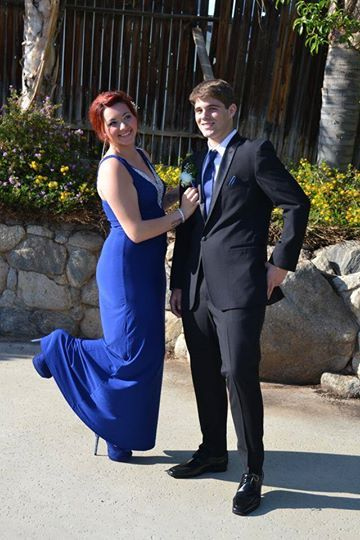 Aleksandar From North High School Of Bakersfield And His Date Looked
