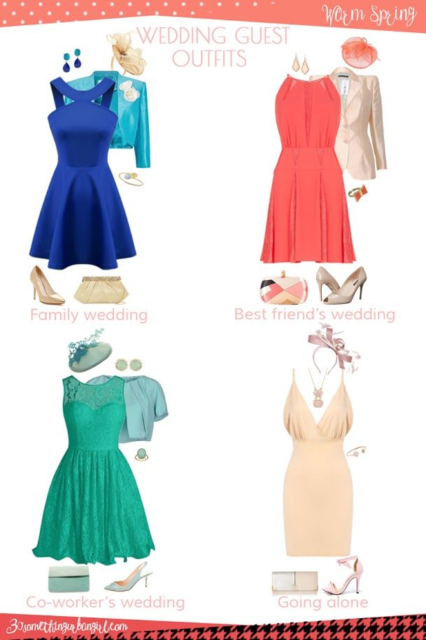 eec9192a5ec Wedding guest outfit ideas for Warm Spring women by 30somethingurbangirl.com  Are you invited to a family