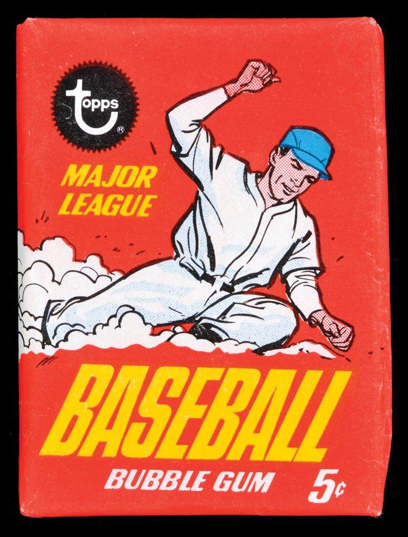 Topps Wax Pack Google Search Trading Cards Baseball Baseball