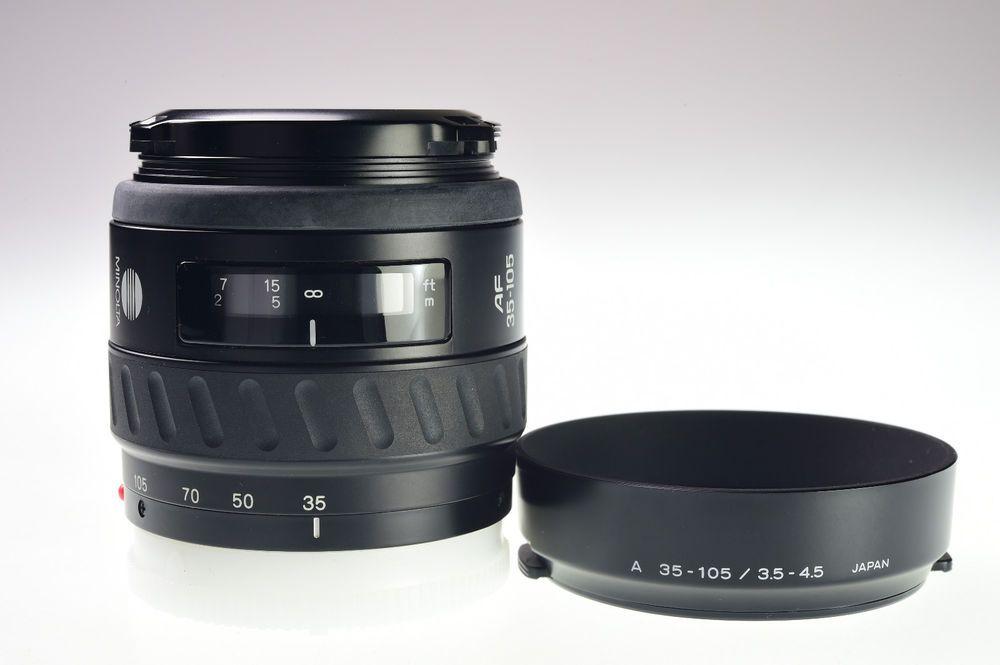Minolta Af 35 105mm F 3 5 4 5 For Sony Alpha Excellent Minolta Sony Alpha Lens Ebay