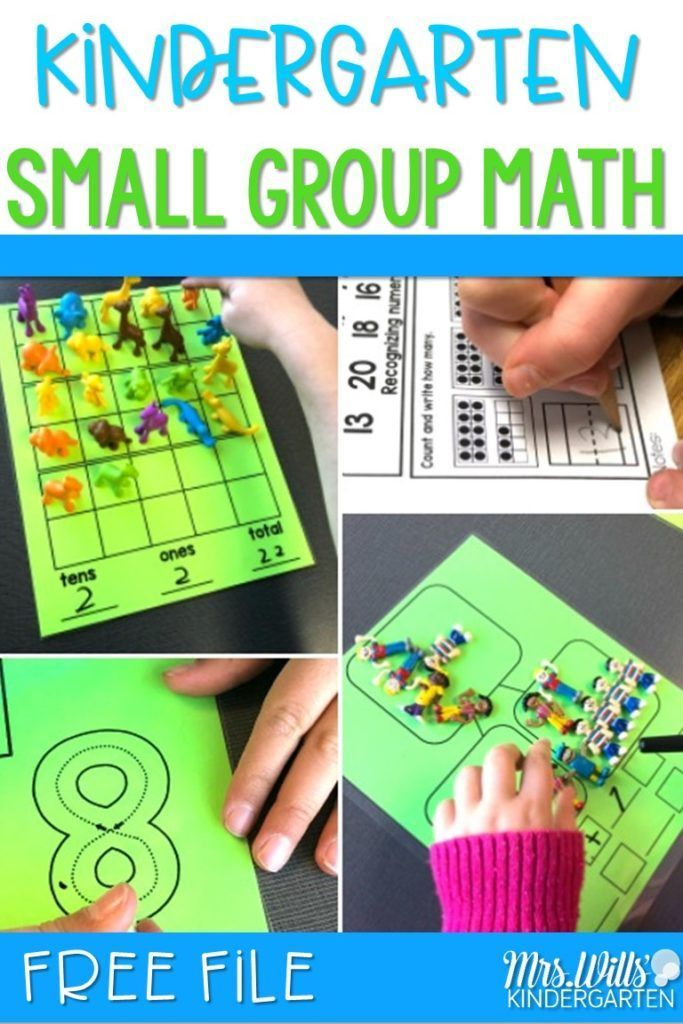 Kindergarten Math Groups Made Easy and a FREE file? You got it! In ...