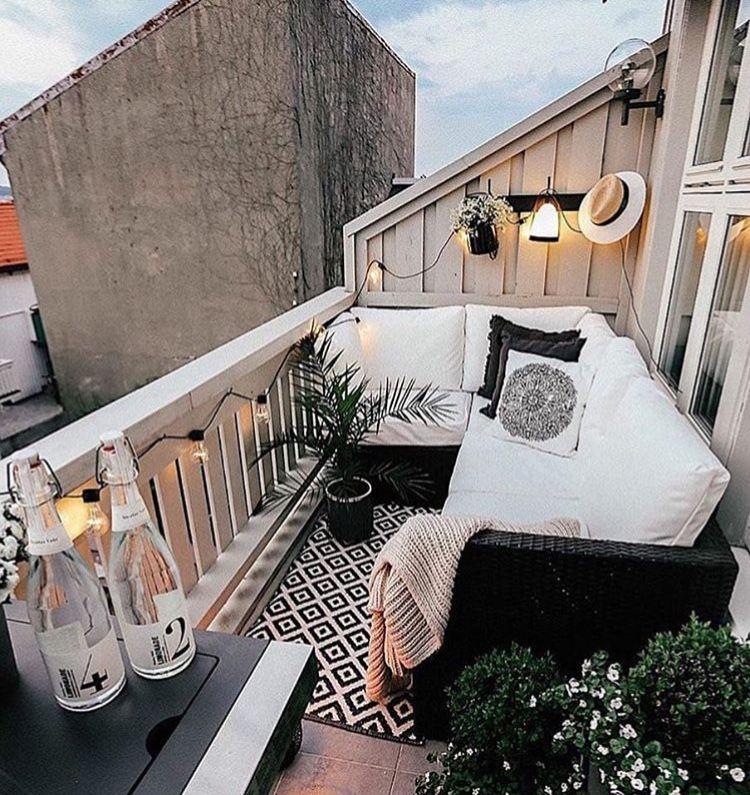 Pin Von Marine P Auf Decoration Wohnung Balkon Dekoration