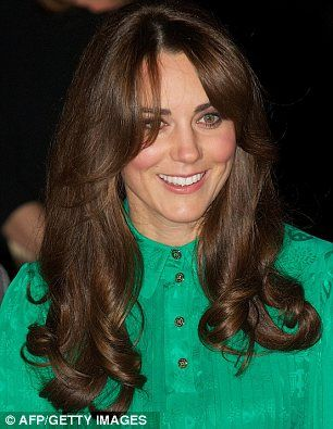 Back To The Eighties Kate References Diana With New Fringe And