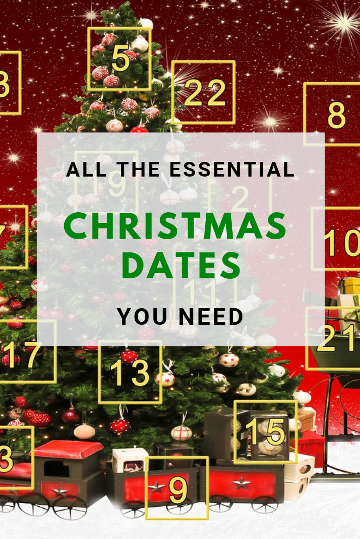 Essential Christmas Dates - Get Them in Your Diary Now | Christmas ...