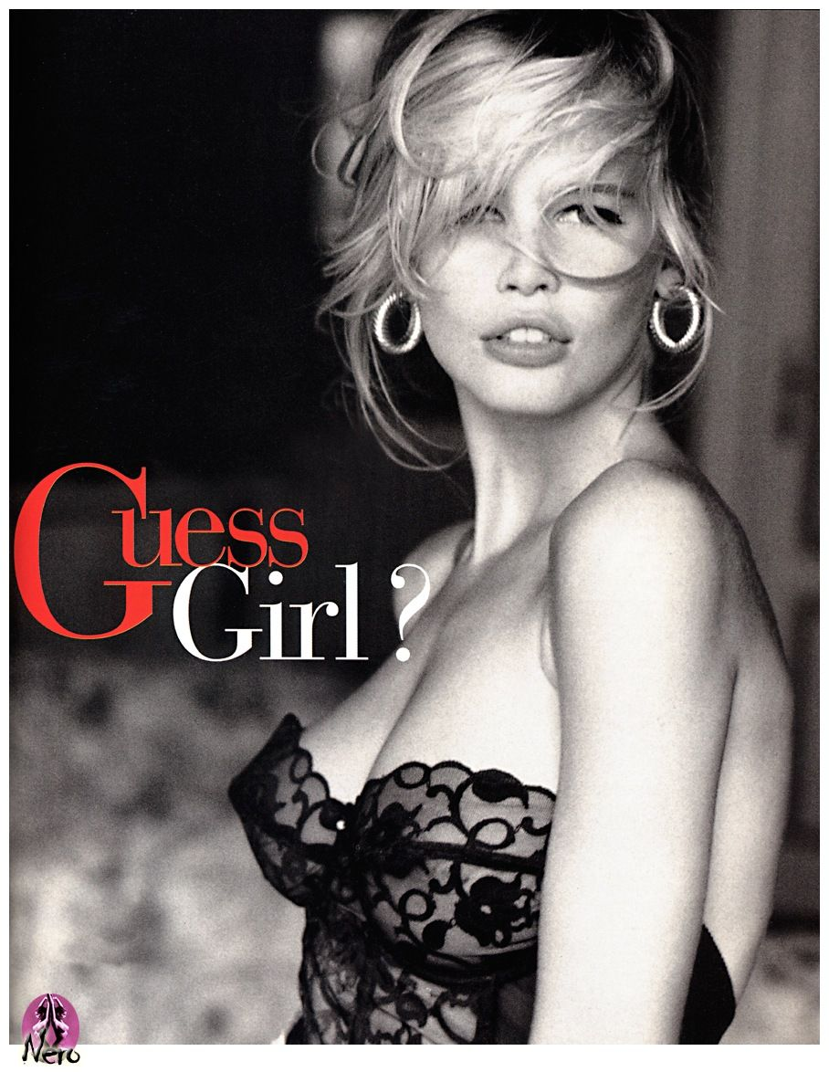 Claudia Schiffer. German Model. One Of The Iconic