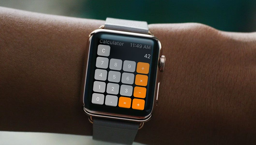 Even Use Your Iwatch As A Calculator In Math Cl Thinkdiffe
