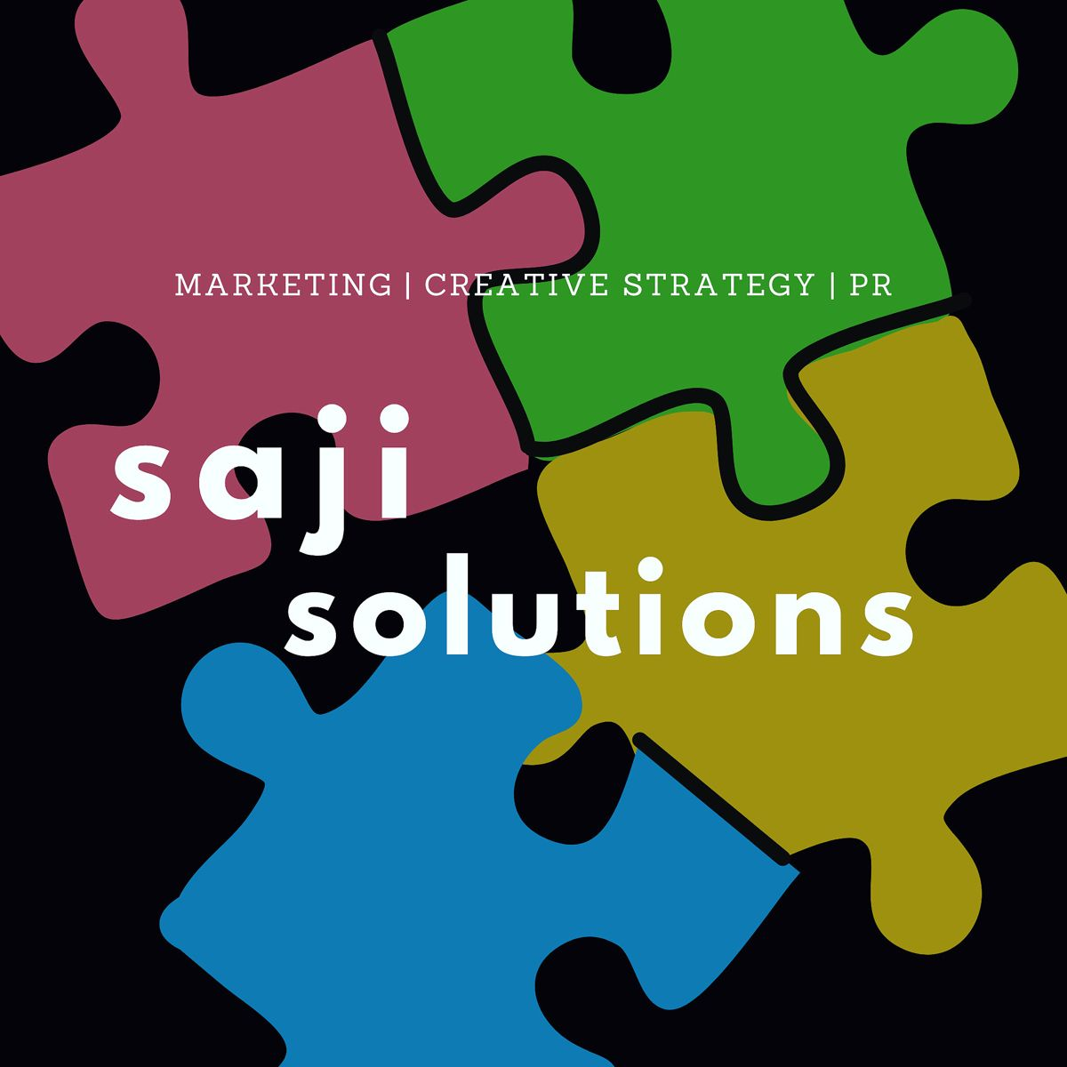 Saji Solutions is a niche marketing management, creative strategy and digital presence agency. We help select industries with media + strategy to help you increase revenue and engagement. Saji will always be your solution. Learn more by joining our email list! 🧩🧩🧩 #sajisolved #marketingagency #marketingmanagement #creativestrategy #digitalpresence #growthhacking #buildyourbrand #creativeagency #digitalmarketing #smallbizlife #smallbiztips #smallbizlove