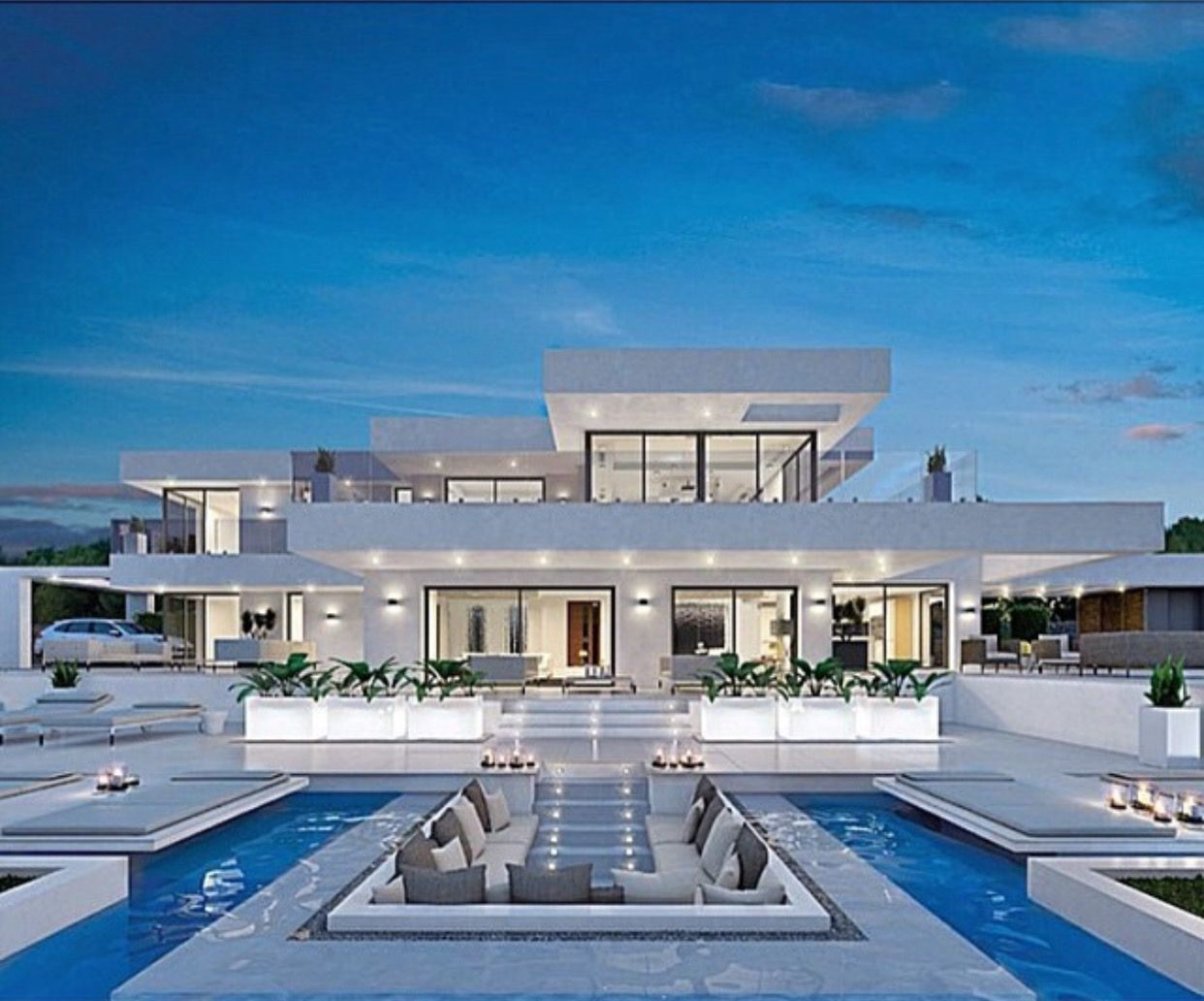 Une villa de luxe luxe vacances villas de luxe plus for Modern luxury villa design