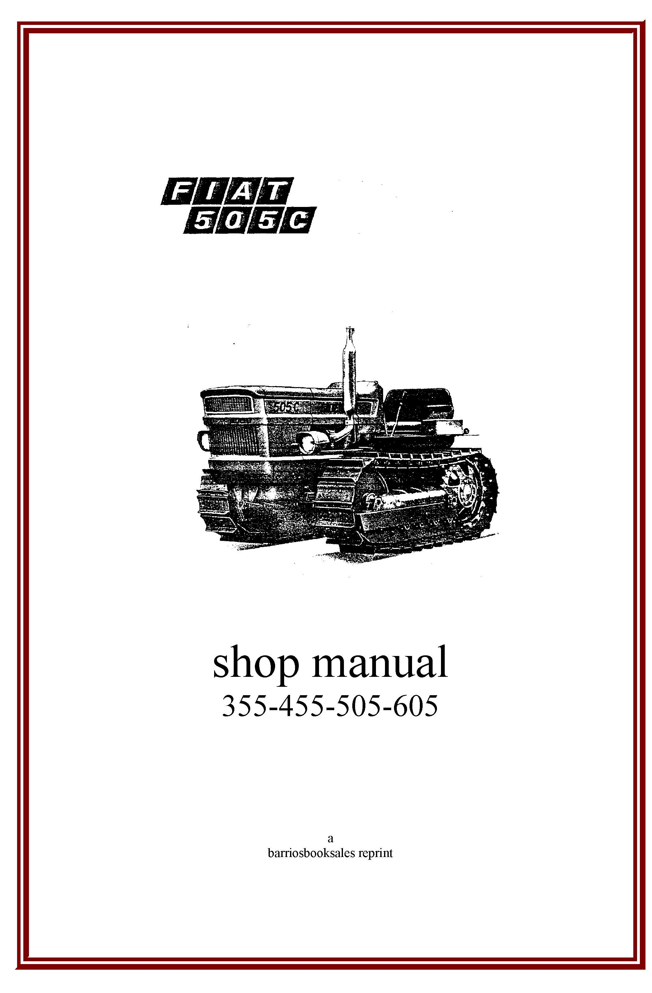Fiat, Tractors, Manual, Workshop, Atelier, Workshop Studio, Work Shop  Garage, Tractor, User Guide