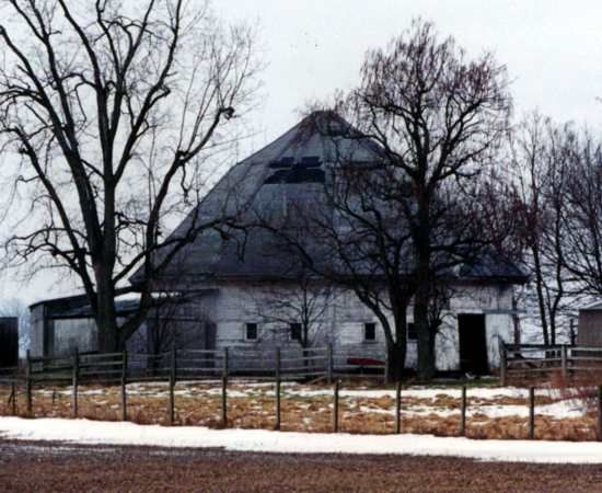 Round Barn - Auglaize Co., Ohio
