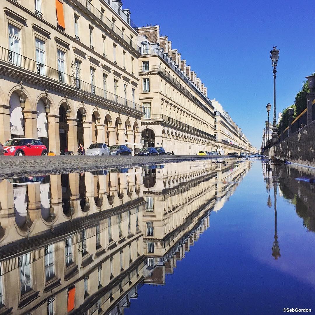 Sebastien Pelegrin Photography - Rivoli spirit✨  Good morning, wish you a perfect Friday! #Paris