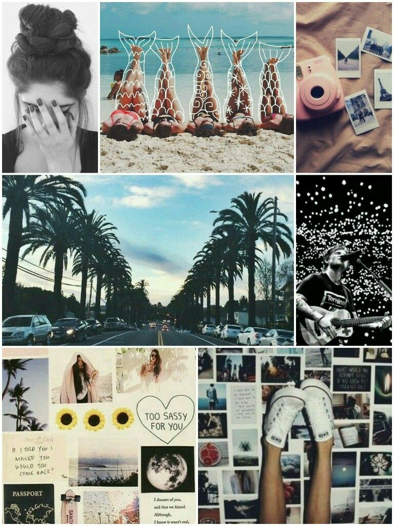 Collage Wallpapers Tumblr Diy Journal Notebook Collage Tumblr