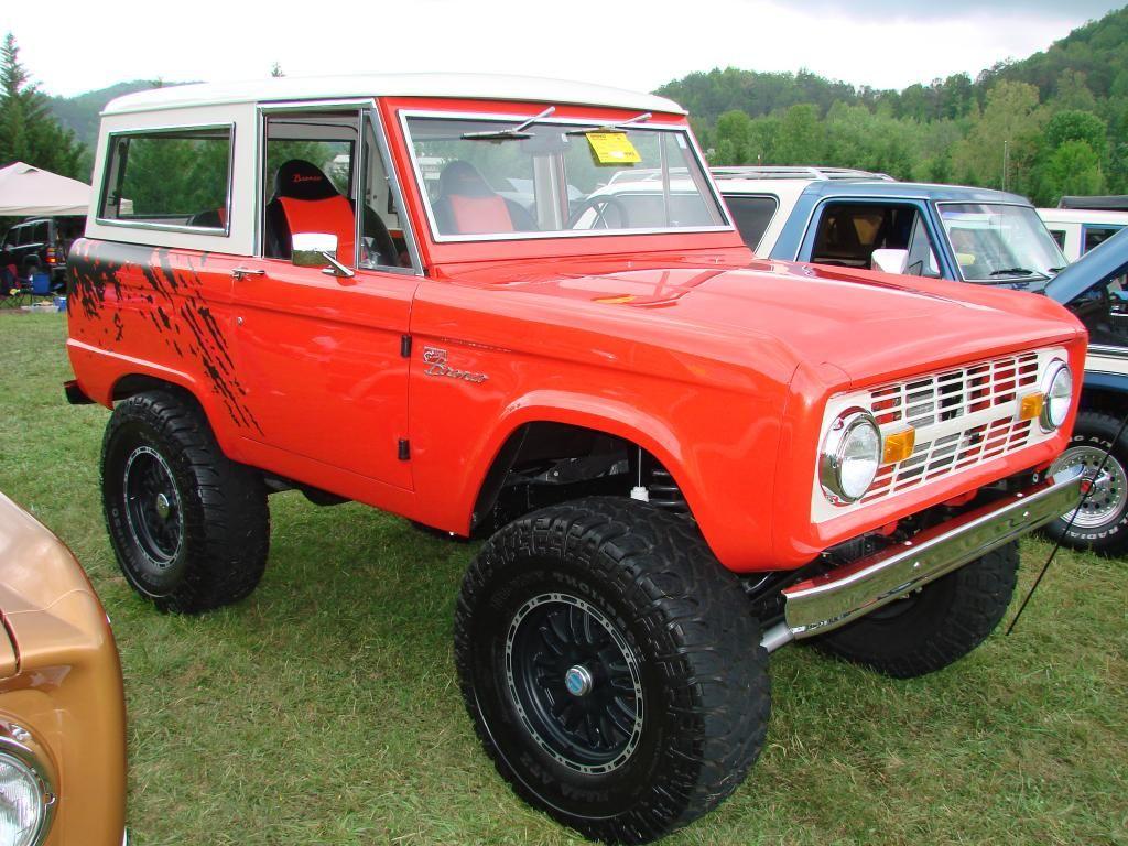Orange Bronco Svt Raptor Graphics