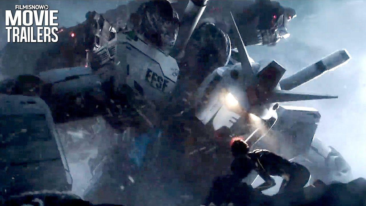 "READY PLAYER ONE ""Mechagodzilla vs Gundam"" Clip (2018) Sci ..."