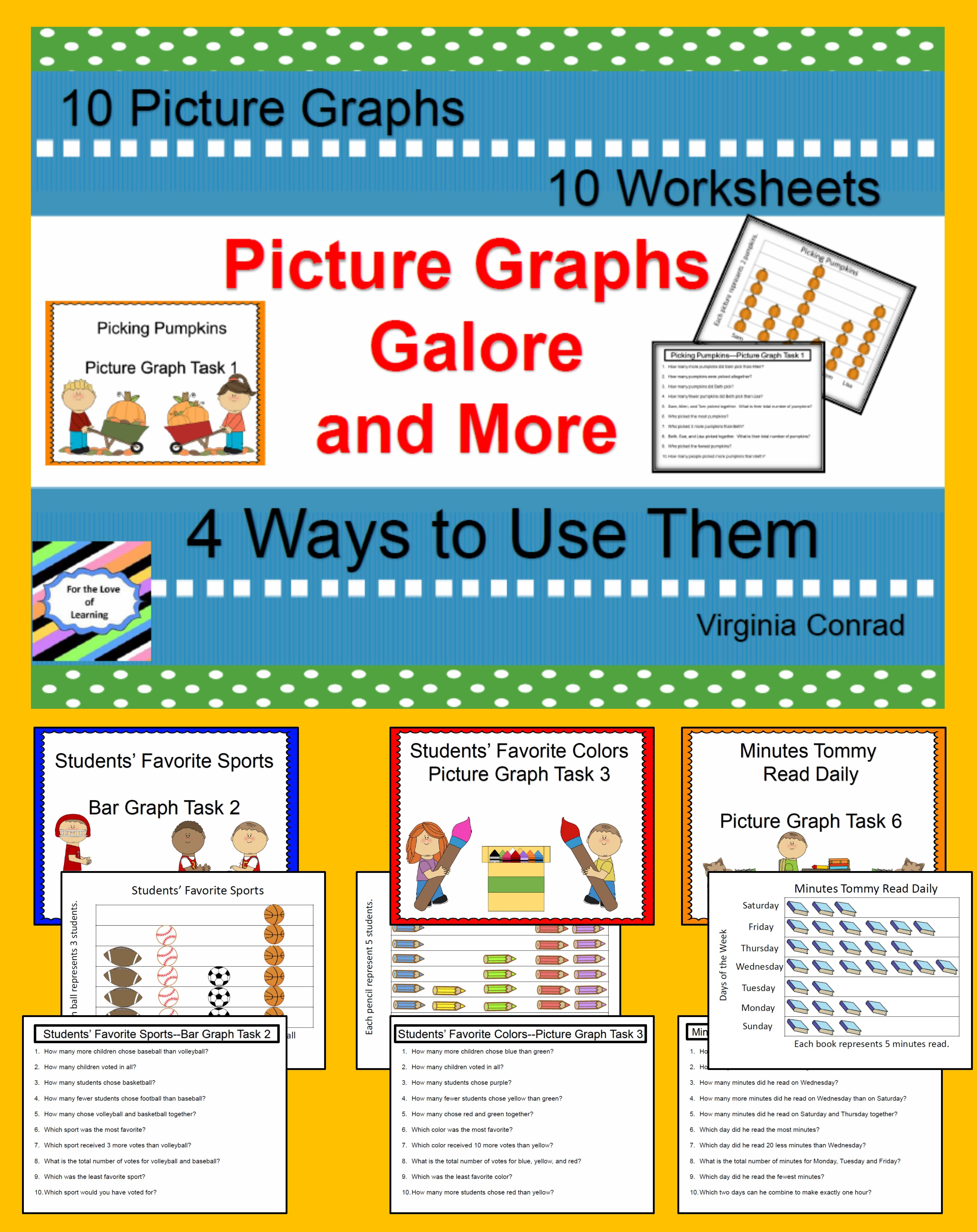 Picture Graphs And More With Images