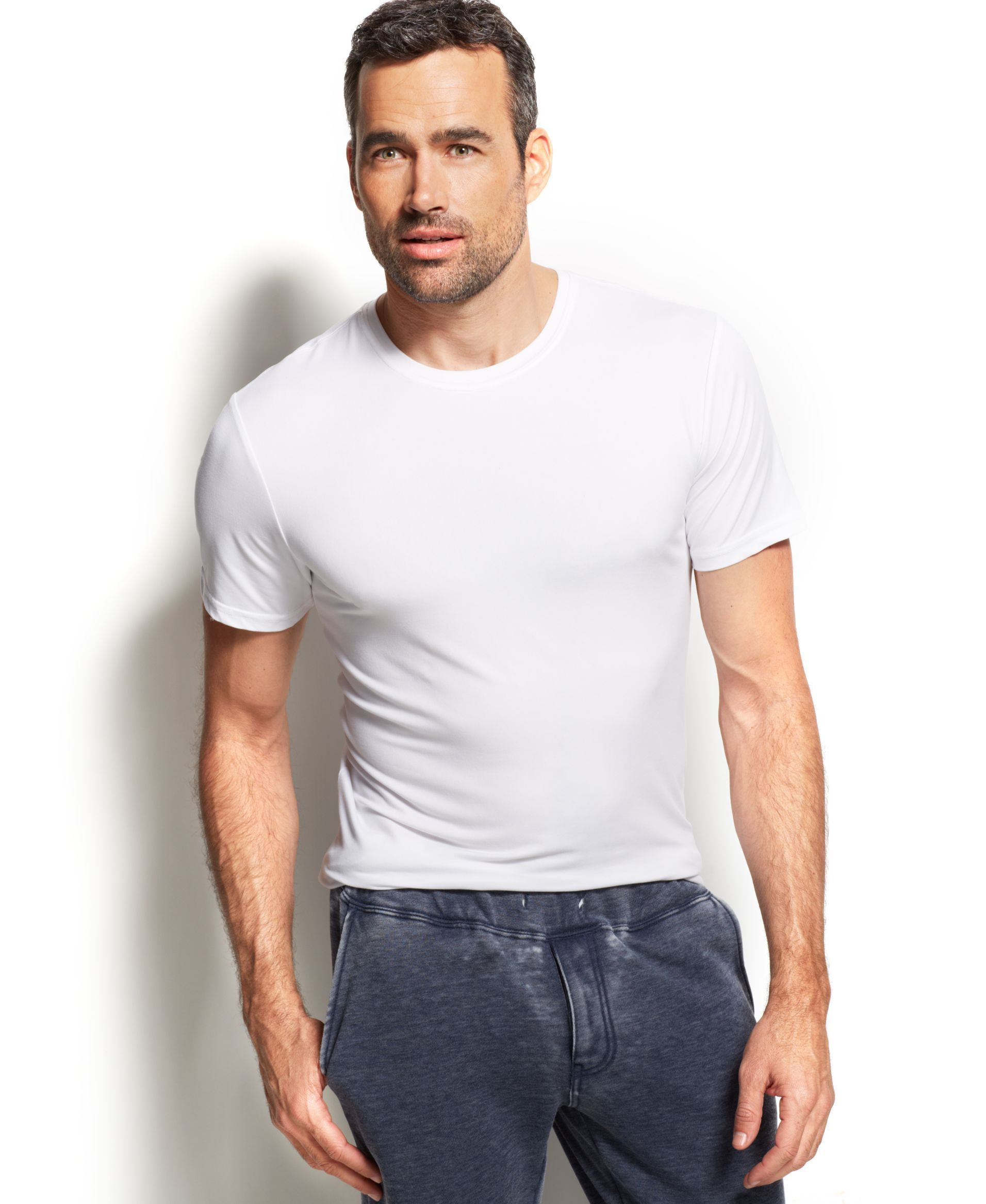 eeb29b85d Men's Cool Ultra-Soft Light Weight Crew-Neck T-Shirt | 服 | Shirts ...
