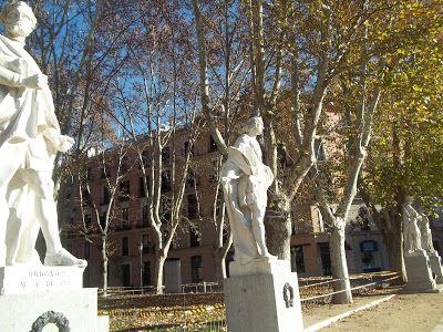 Paseo das Estatuas - Madri - Foto:Maria Albert