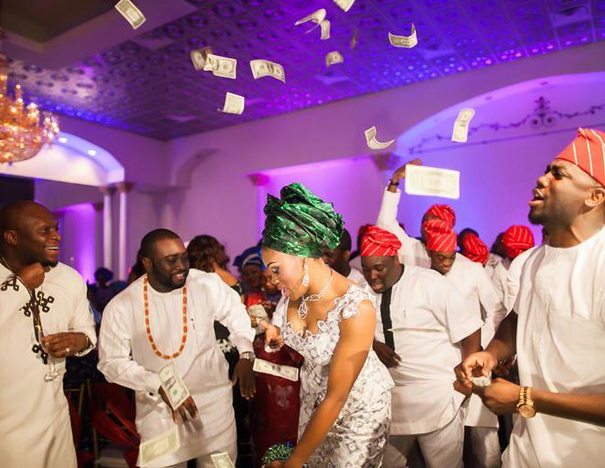 African Wedding Reception