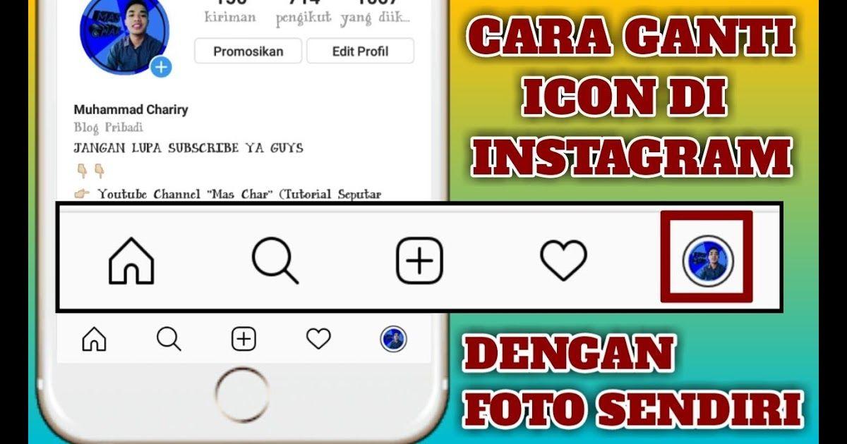 Cara Agar Gambar Profil Whatsapp Full Tanpa Aplikasi Cara Mudah Ganti Icon Profil Instagram Dengan Foto Sendiri Youtube Waspada N Gambar Profil Gambar Profil