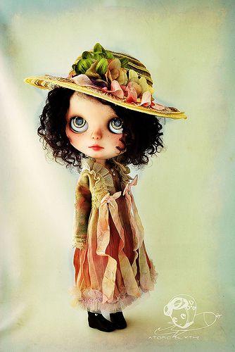 Blythe custom doll by atomic