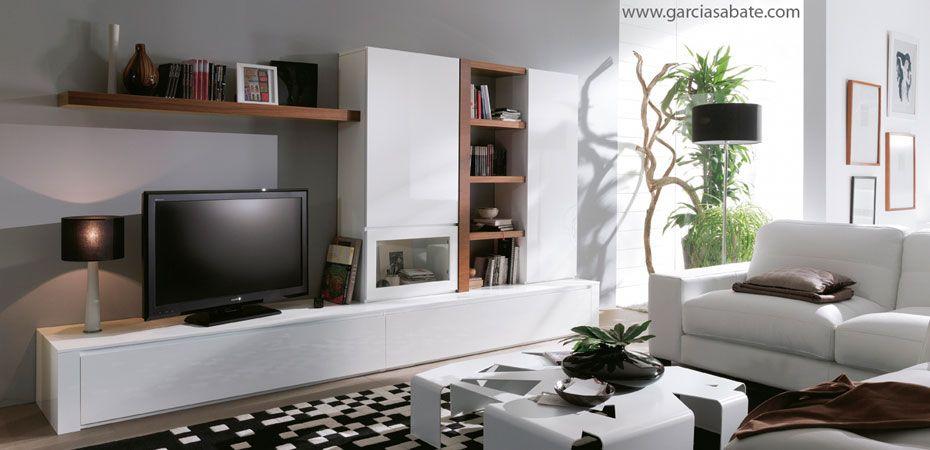 Composici n mueble comedor de dise o acabada en madera for Muebles de living modernos en cordoba