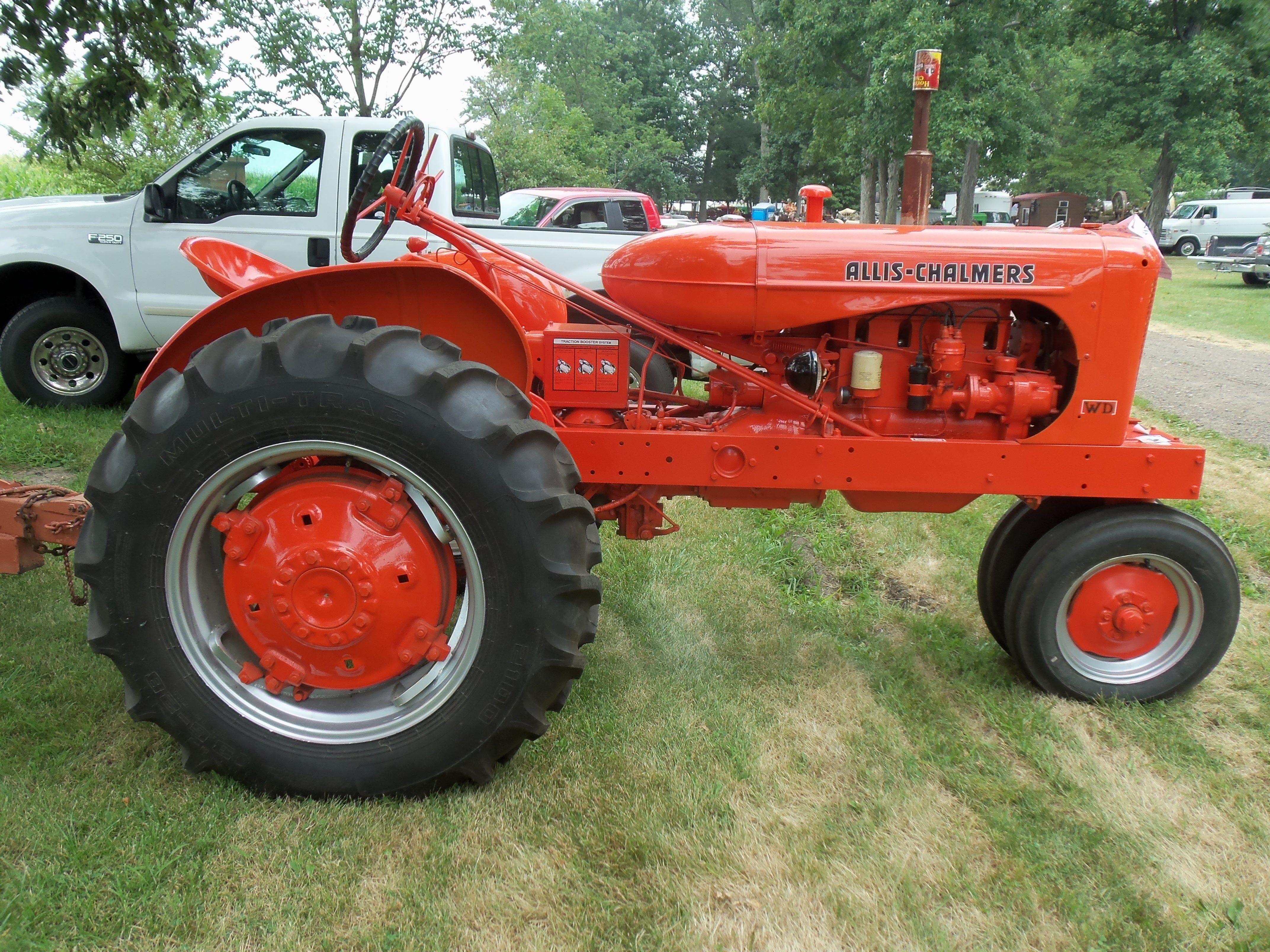 1953 Ac Wd 45 Tractors Allis Chalmers Tractors Antique Tractors