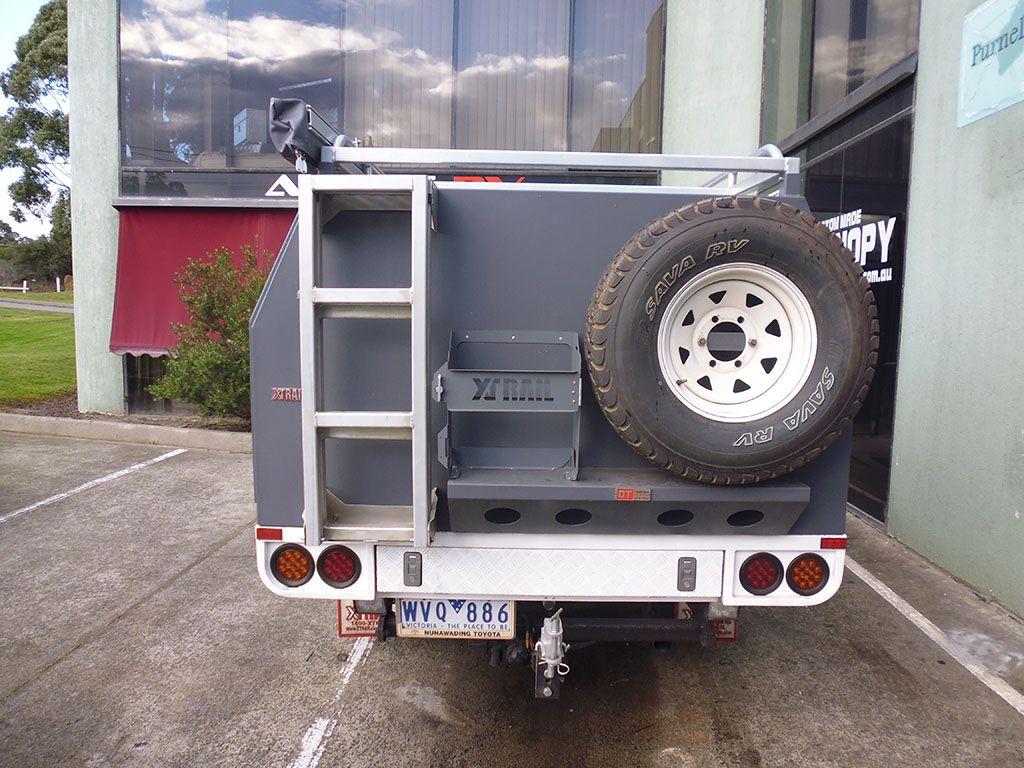 Aussie RV ozToolbox camper aluminium canopy camper tray top