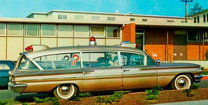 Dark Roasted Blend Awesome Vintage Ambulance Cars Pontiac