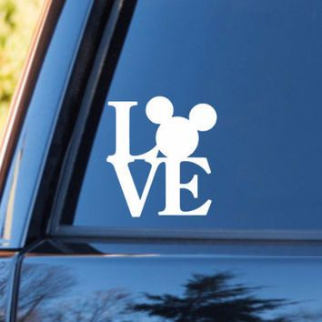 Love disney decal disney stickers disney decal disney vacation love sticker