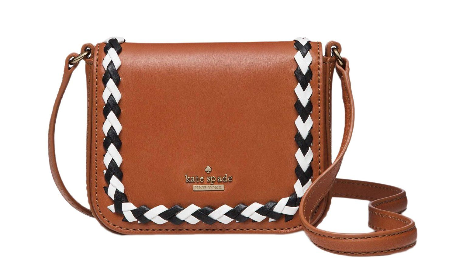 Kate Spade Wales Court Josy brown leather Crossbody bag: Shoes
