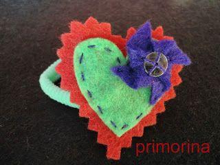 Coletero corazón con molinillo