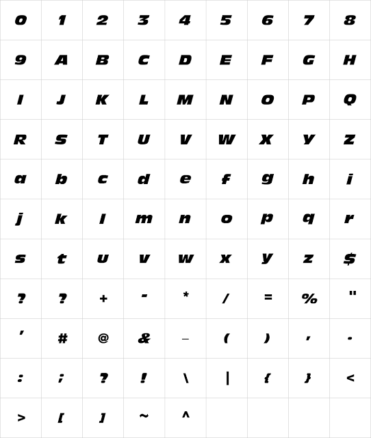 Lettering Time: THE FAST AND FURIOUS 8 FONT | Fonts | Italic font