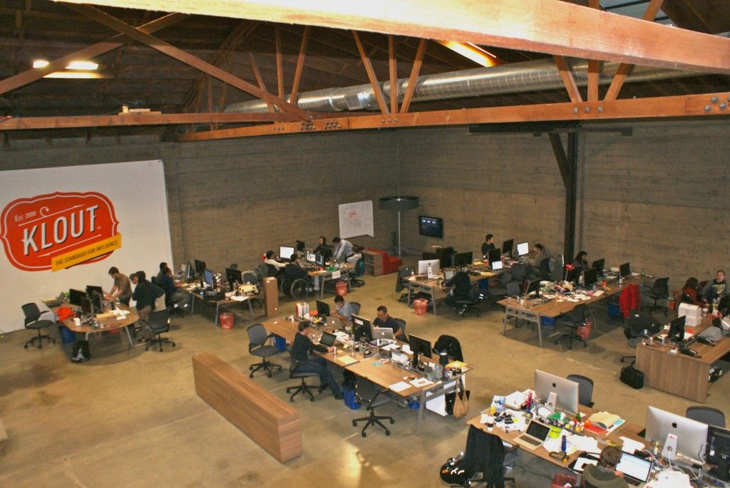 Klout Was Included In The Best San Francisco Startup Offices For