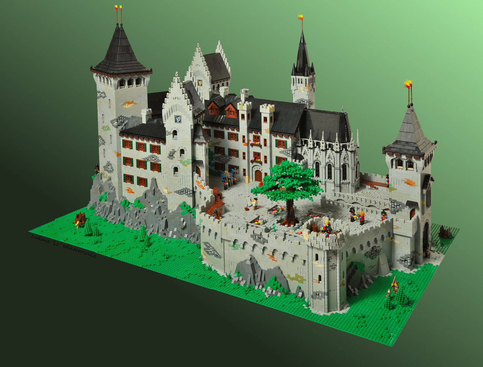 Christopher And Isabell S Castle Lego Castle Lego Design Lego Knights
